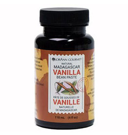 LorAnn Gourmet LorAnn's Pure Madagascar Vanilla Bean Paste 4 oz (118mL)