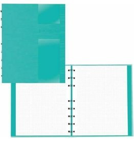 Blueline NOTEBOOK-NOTEPRO, LUX COLLECTION 192 PAGE 9.25X7.25 AQUA