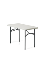 """GLOBAL OFFICE Global Offices To Go, Lite-Lift II Folding Rectangular Table, Steel, Oyster Grey, 48""""W x 24""""D x 29 1/4""""H"""