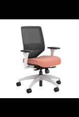 Union & Scale Chair - Union & Scale - Lewis - Mesh - Salmon