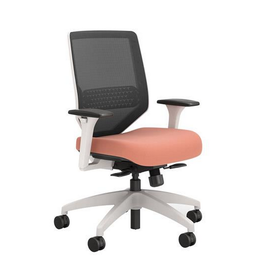 Union & Scale Chair - Union & Scale - Lewis - Mesh - Salmon
