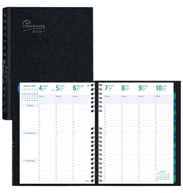 Blueline PLANNER-WEEKLY, 7 DAY COILPRO 11X8-1/2 ENGLISH 2021
