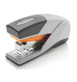 Swingline STAPLER-HALF STRIP OPTIMA 25, GREY/ORANGE