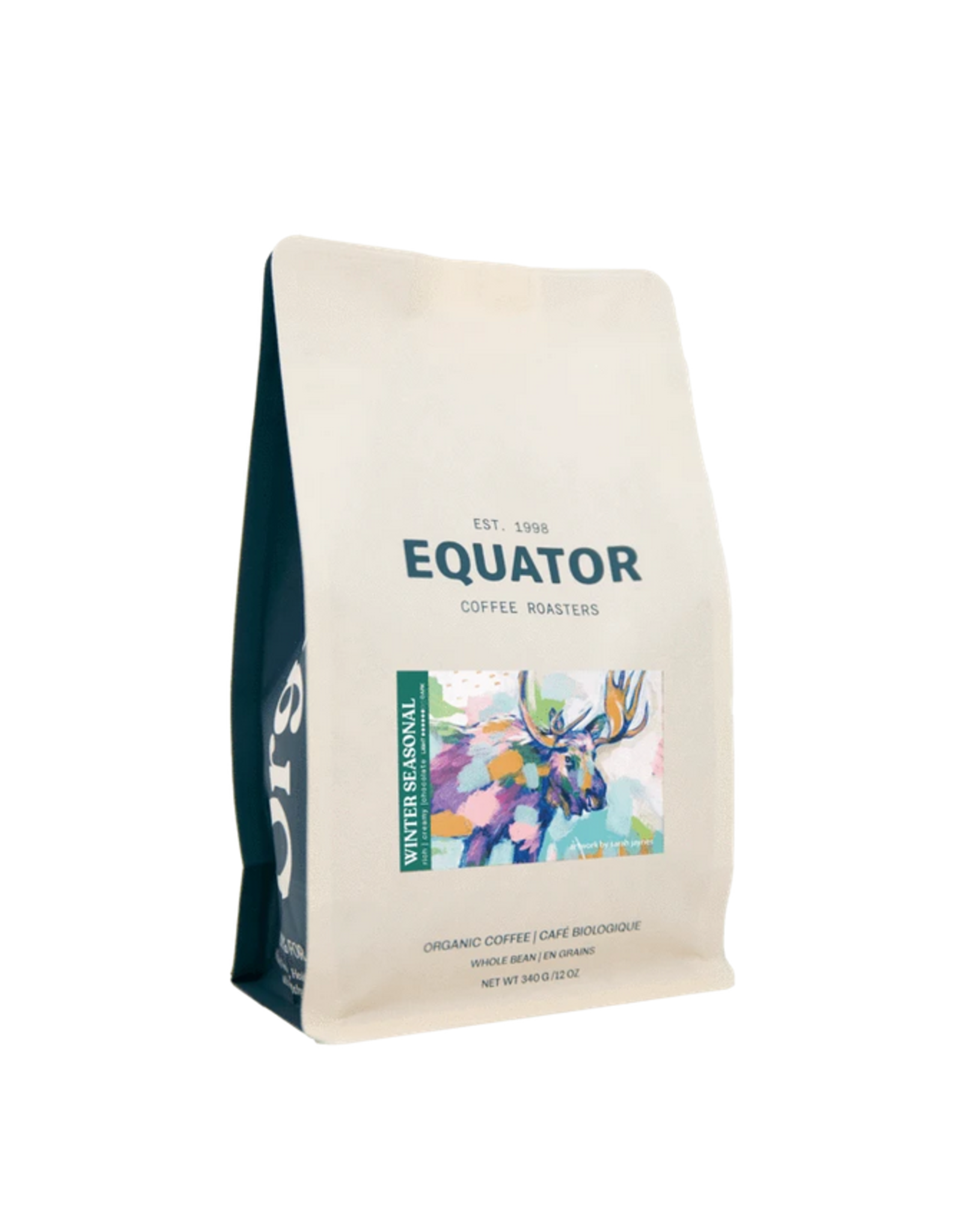 Equator Coffee Roasters Equator Coffee, Winter Seasonal Blend, 340g Beans
