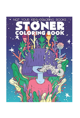 Not Your Kids Colouring Books Colouring Book for Adults, Stoner: A Trippy Psychedelic