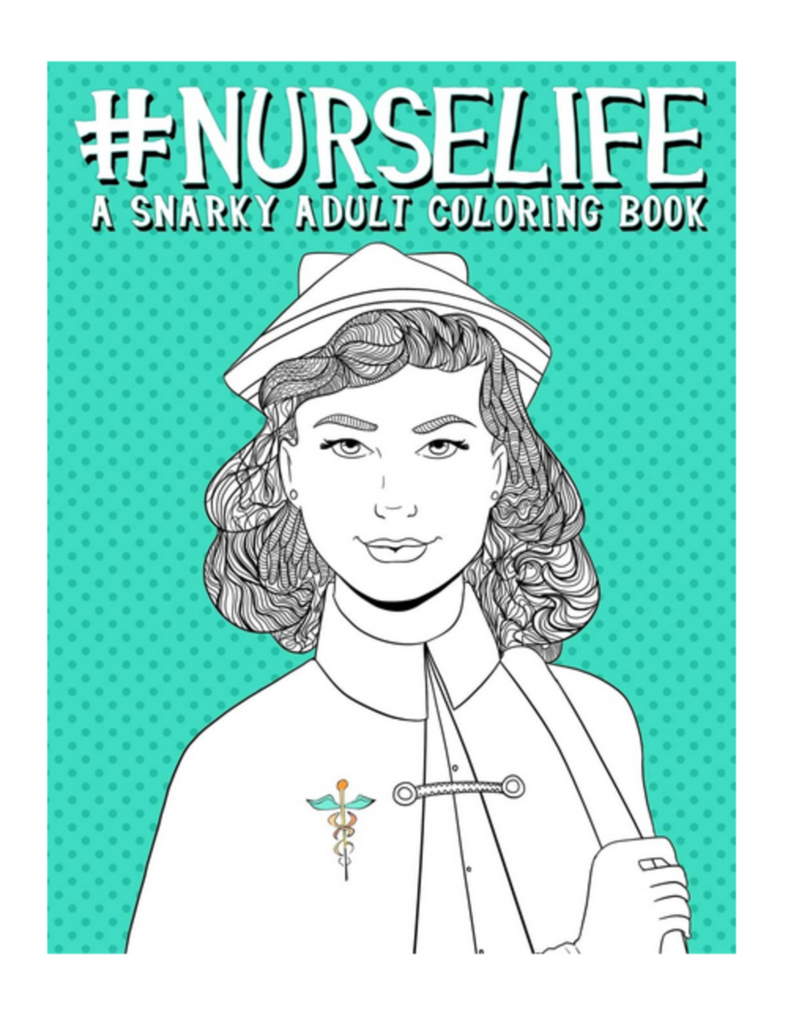 Papeterie Bleu Colouring Book for Adults, #NurseLife