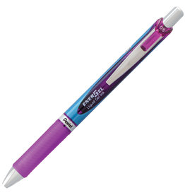 Pentel PEN-RETRACTABLE, ENERGEL GEL ROLLER, 0.5MM VIOLET