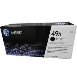 HP LASER TONER-HP #49A BLACK