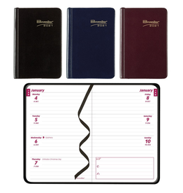 Blueline PLANNER-WEEKLY, POCKET 4X2-5/8 ASSORTED, ENGLISH 2021