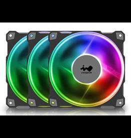 InWin InWin, Jupiter J120 Addressable 120mm x 3 RGB Case Fan Triple Pack