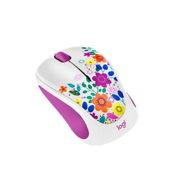 Logitech Logitech Design Collection Wireless Mouse, Spring Meadow