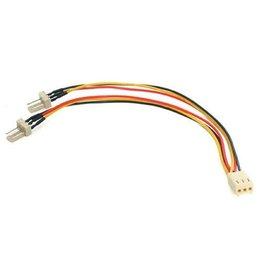 "Startech PC Parts - Startech 6"" TX3 Fan Power Splitter Cable"