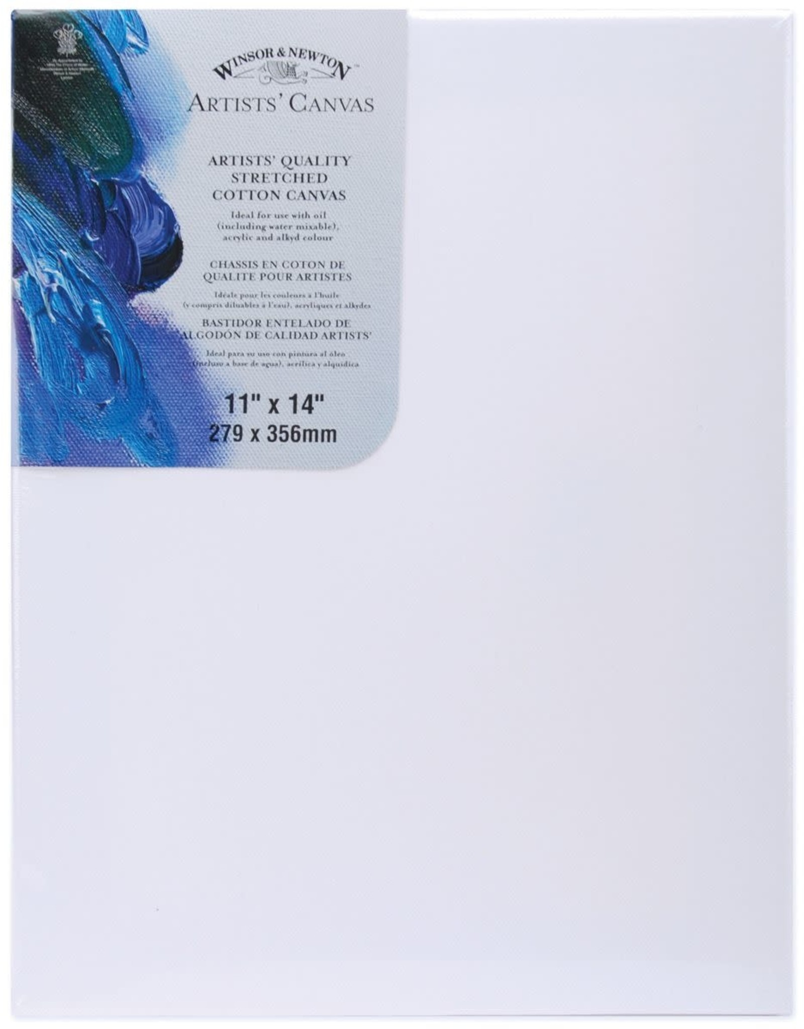 Winsor & Newton CANVAS-STRETCHED W&N 11X14'' COTTON