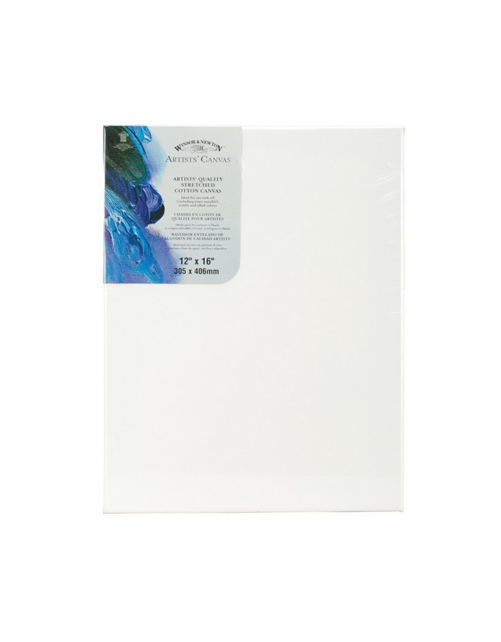 Winsor & Newton CANVAS-STRETCHED W&N 12X16'' COTTON
