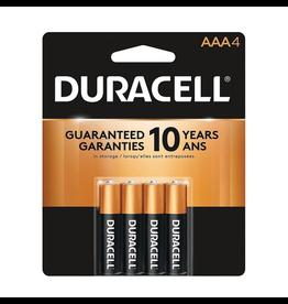 Duracell Duracell AAA Coppertop Alkaline Batteries 4 Pack