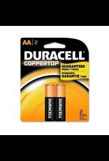 Duracell Duracell AA Coppertop Alkaline Batteries 2 Pack