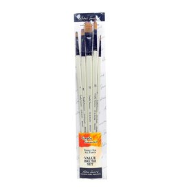Simply Simmons PAINT BRUSH SET-SIMPLY SIMMONS OIL & ACRYLIC, 5 LONG