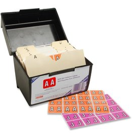 TOPS Products LABELS-ALPHABETIC COLOUR CODE, STARTER KIT