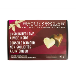 Peace by Chocolate Peace by Chocolate, Valentine's 15 Assorted Chocolates 160g
