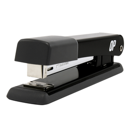 OP Brand STAPLER-FULL STRIP, DELUXE 20 SHEET CAP., BLACK, OP BRAND