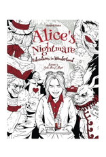 Julia Rivers Colouring Book for Adults, Alice's Nightmare