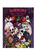 Julia Rivers Colouring Book for Adults, Horrors from the Crypt