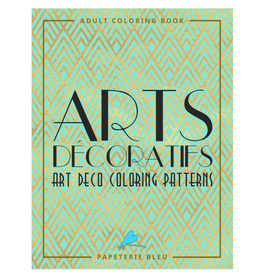 Papeterie Bleu Colouring Book for Adults, Arts Decoratifs