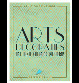 Papeterie Bleu Colouring Book for Adults, Arts Decoratifs