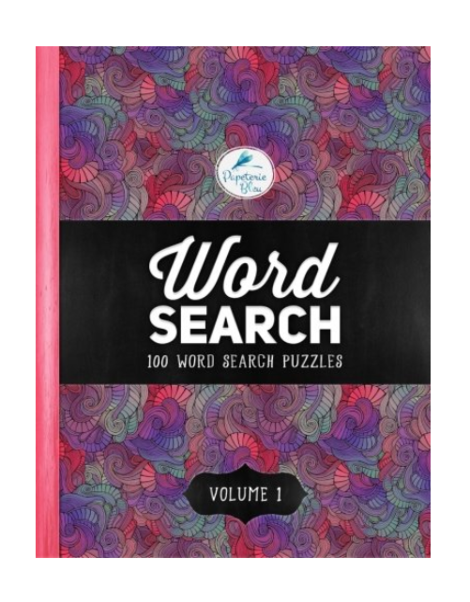 Papeterie Bleu Activity Book, 100 Word Search Puzzles: Volume 1