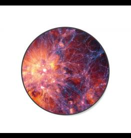 Spinpop Spinpop Expanding Stand & Grip Orange Nebula