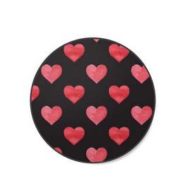 Spinpop Spinpop Expanding Stand & Grip Red Hearts Pattern