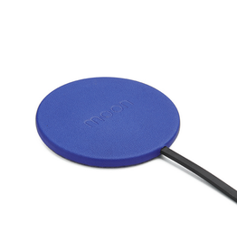 Moon Moon Wireless Charge Pad with AC Blue Imitation Leather