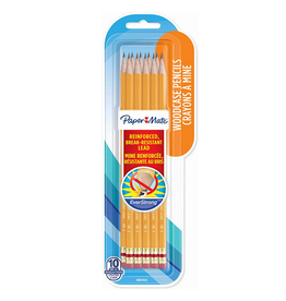 Paper Mate PENCIL-PAPER MATE EVERSTRONG HB TIPPED, 10 PACK