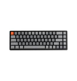 Keychron Keychron K6 RGB Aluminum Mechanical Keyboard, Gateron Blue