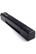 BlueDiamond BlueDiamond, Defend Flex + Charge, 6 Outlet Surge Protector + 2 USB Charging Ports, 6ft