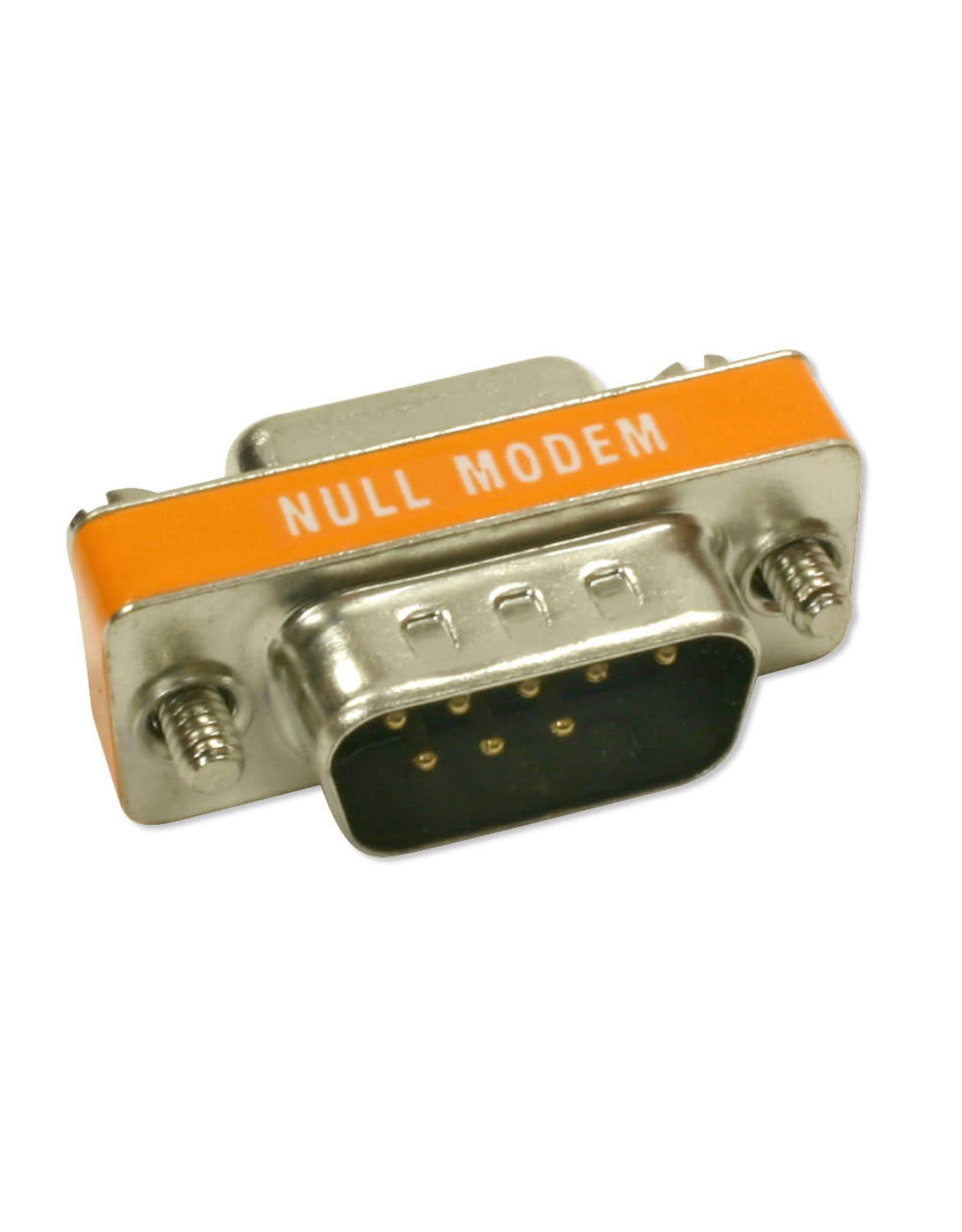 BlueDiamond BlueDiamond, Mini Null Modem M/M DB9 Adapter