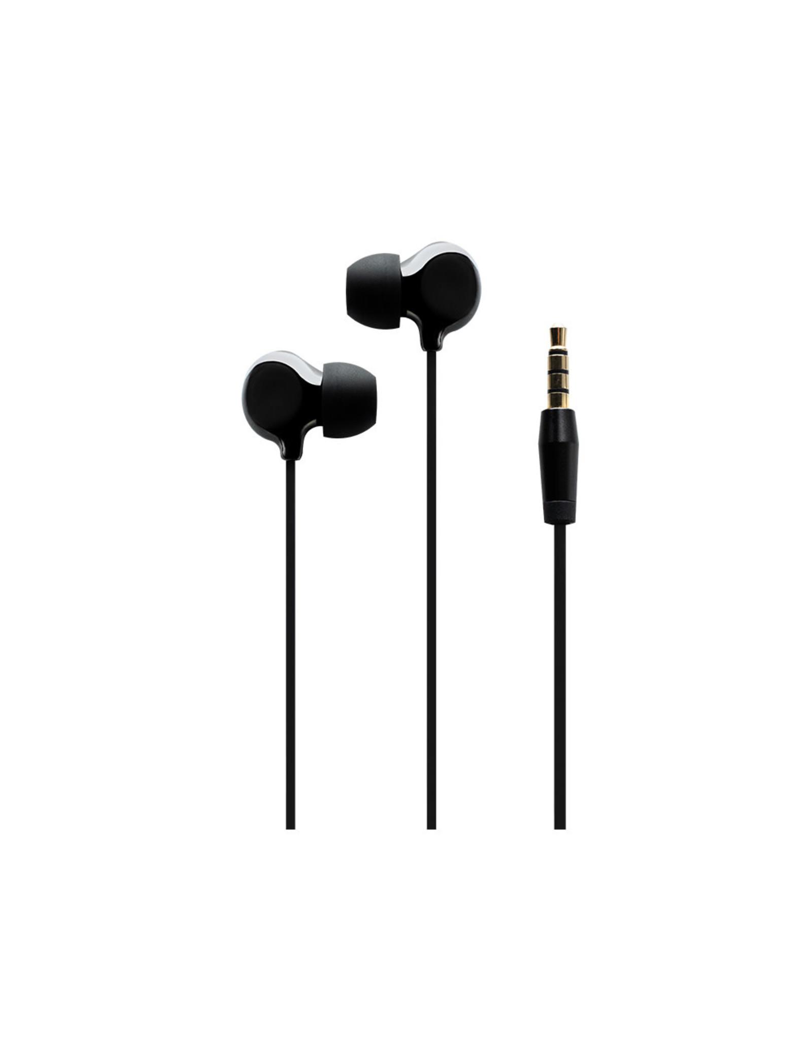 BlueDiamond BlueDiamond, SmartTone Pro Ceramic Earbuds, Black