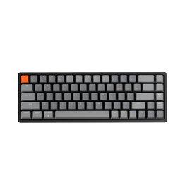 Keychron Keychron K6 RGB Hotswap Mechanical Keyboard, Gateron Blue