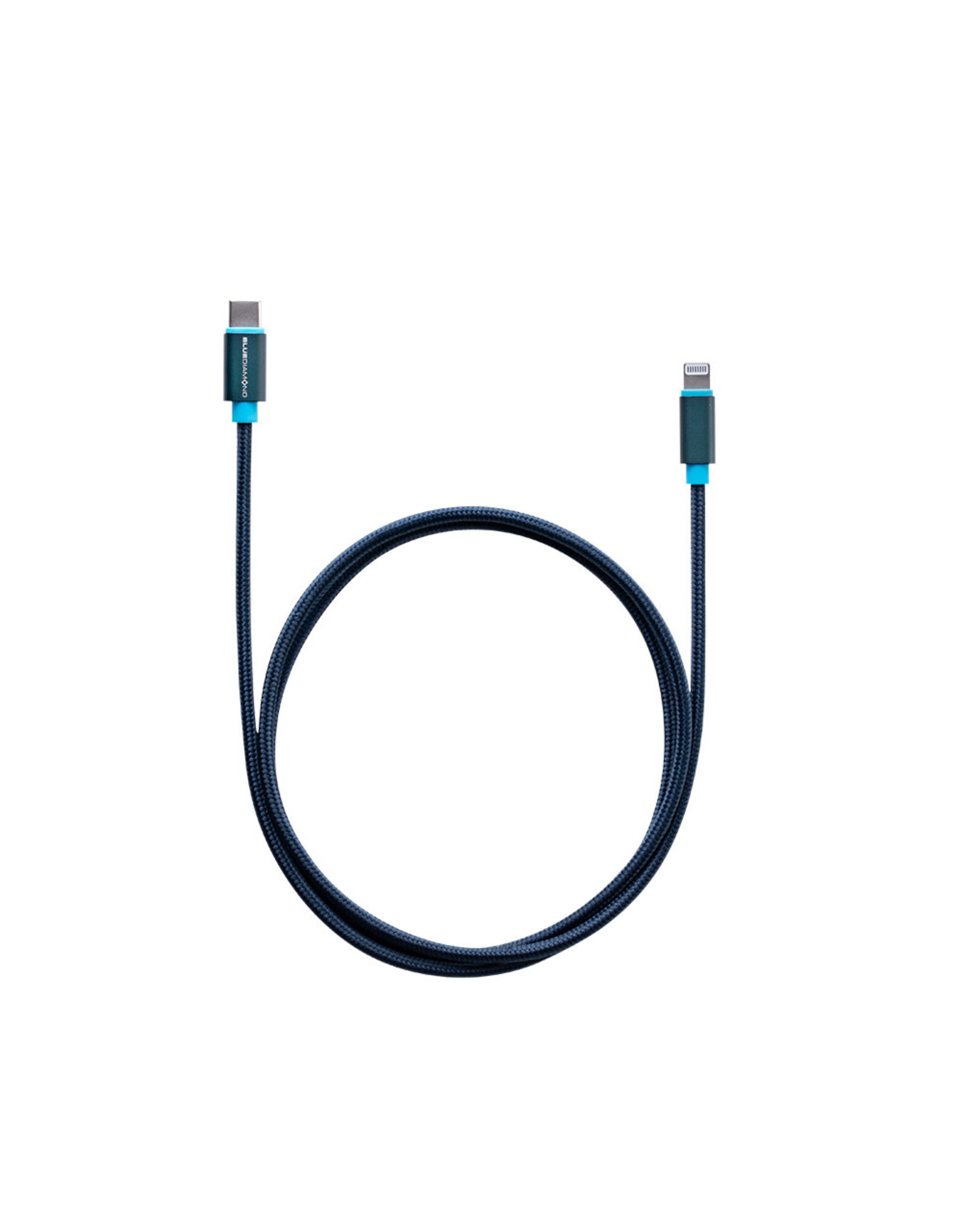 BlueDiamond BlueDiamond, Smartsync Lightning to USB-C Cable, 3ft