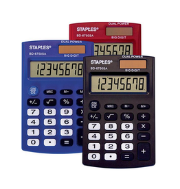 Staples Staples Pocket Calculator BD-6750SA
