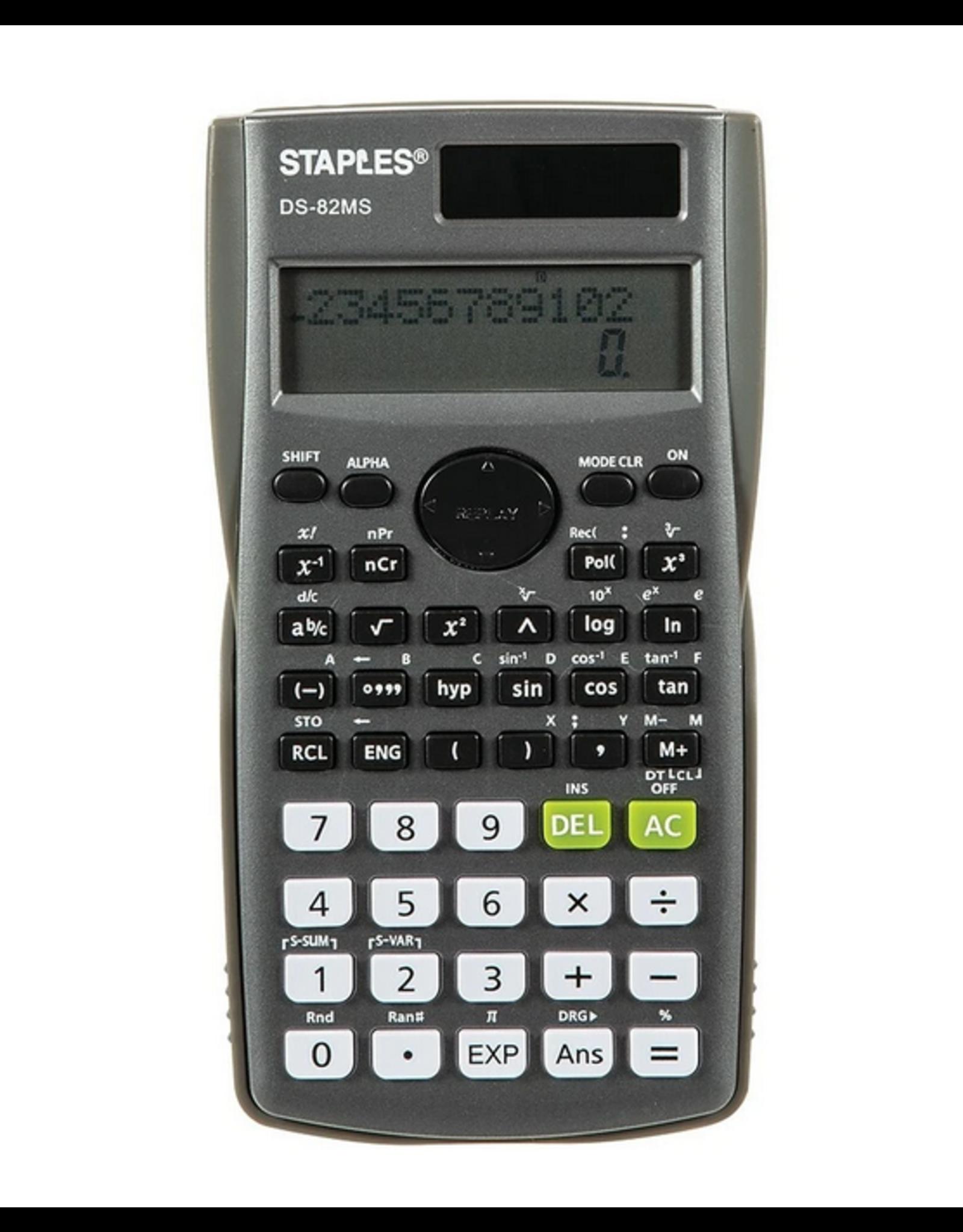 Staples Staples 10-Digit Scientific Calculator DS-82MS