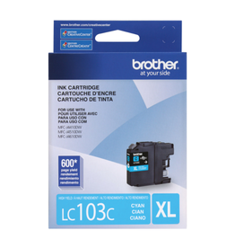 Brother INKJET CARTRIDGE-BROTHER CYAN HIGH YIELD