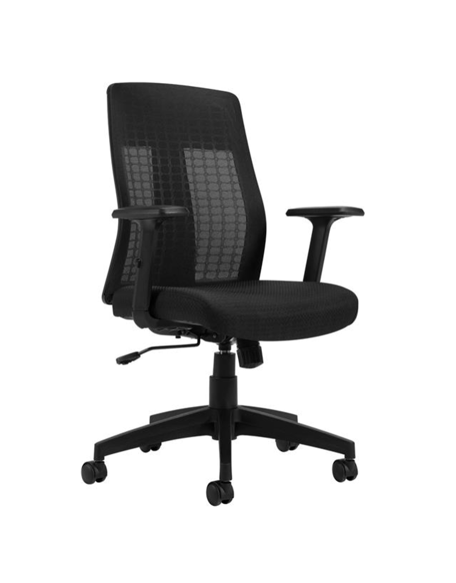 Offices to Go Chair - Offices to Go - Flint - Mesh Back Synchro-Tilter - Black