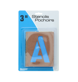 IDENTITY GROUP/US STAMP & SIGN STENCIL-PAINT & LETTERING GOTHIC 3''CAPITALS & NUMERALS