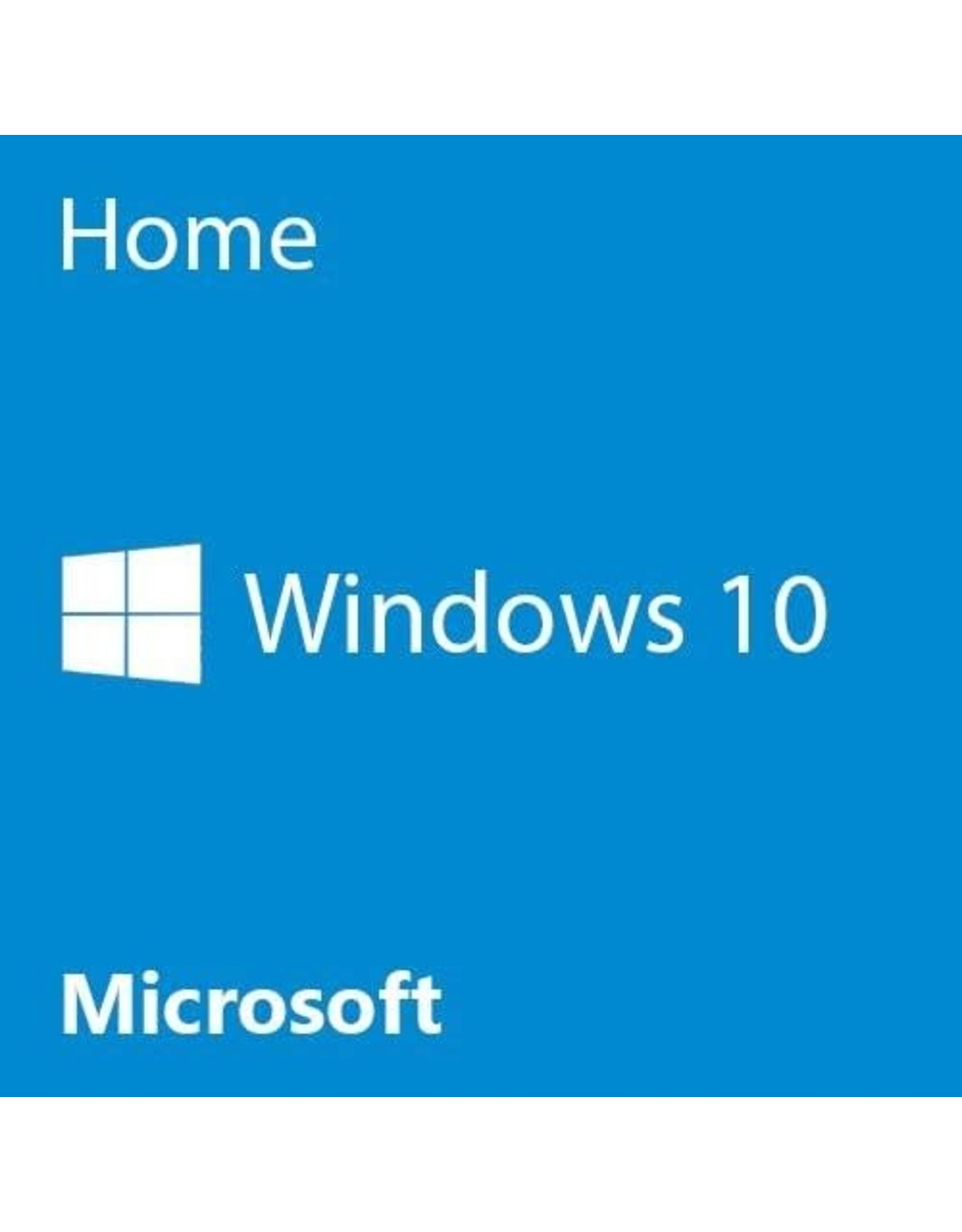 Microsoft Windows 10 Home OEM Operating System Software