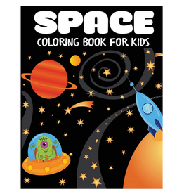 Blue Wave Press Colouring Book for Kids, Space