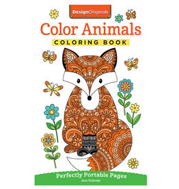 Jess Volinski Colouring Book, Colour Animals