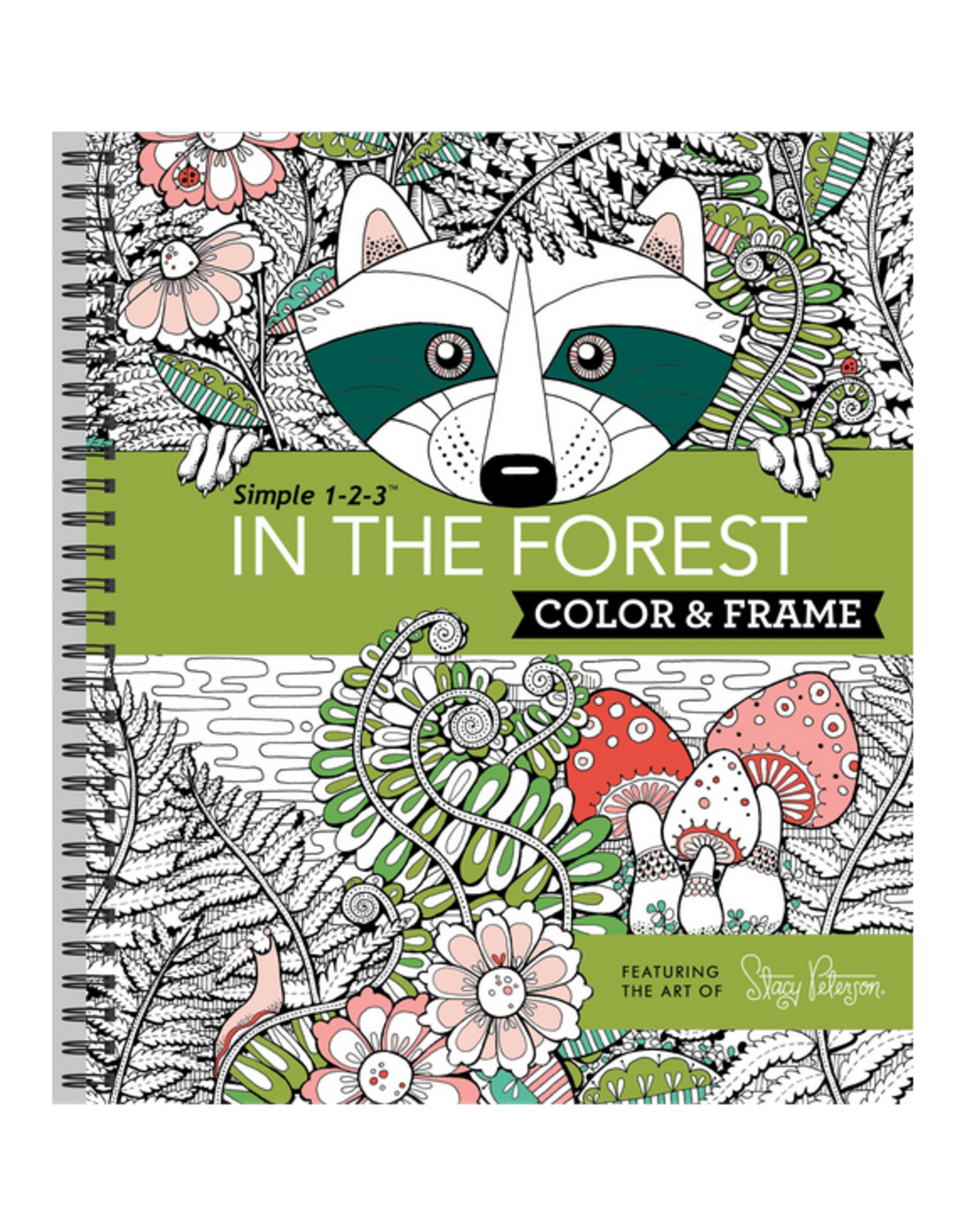 New Seasons Colouring Book, In the Forest Spiral Bound