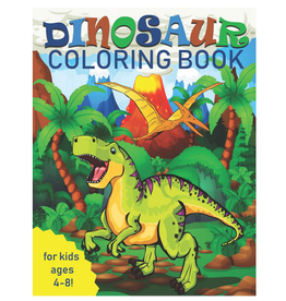 Two Hoots Coloring Colouring Book for Kids, Dinosaurs