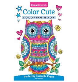 Jess Volinski Colouring Book, Colour Cute